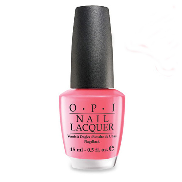 verniki nixion roz pink OPI Elephantastic Pink