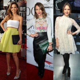 Jessica Alba: Με αφορμή τα γενέθλιά της αναλύουμε τα καλύτερα looks της