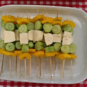 Σουβλάκι λαχανικών
