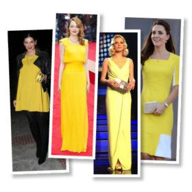 Κίτρινη θύελλα: Οι celebrities φορούν το it χρώμα της άνοιξης