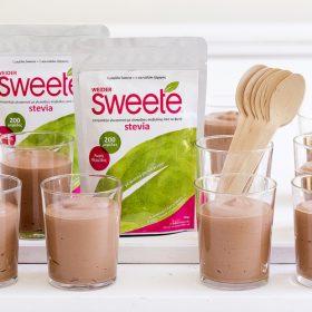 MousseσοκολάταςμεSweete stevia