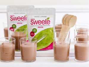 sweete, stevia, mous sokolata