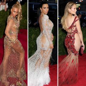 Beyoncé-Kim Kardashian-Jennifer Lopez: Ποια πήγε πιο γυμνή στο MET Gala;