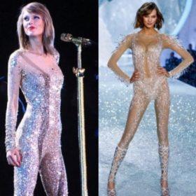 Karlie Kloss και Taylor Swift: Ποια φόρεσε την ολόσωμη φόρμα καλύτερα;