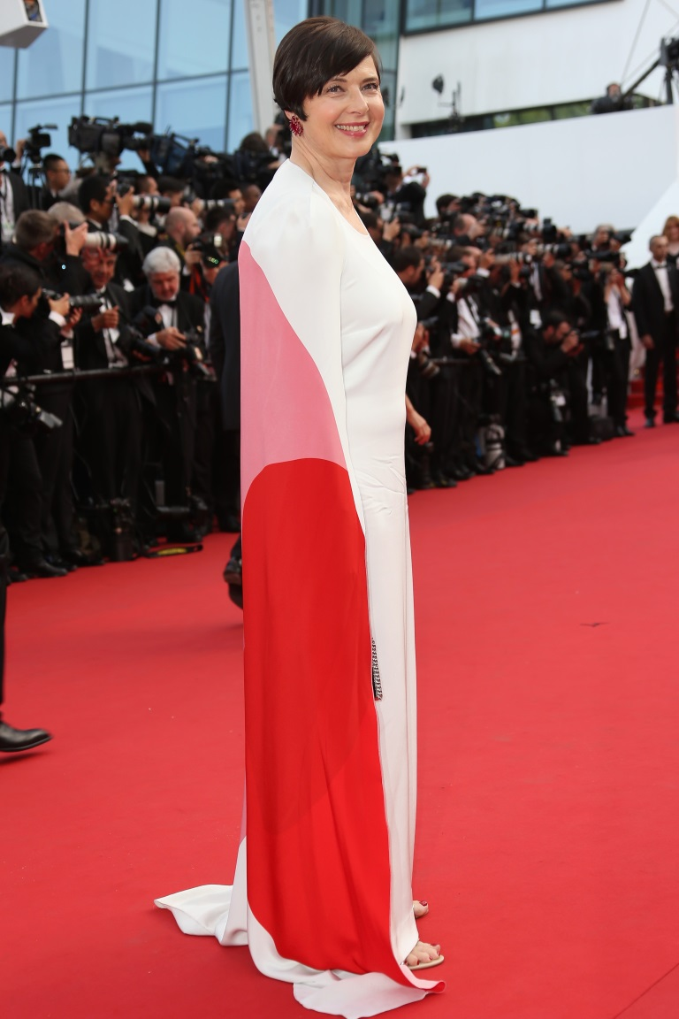 """the opening ceremony and premiere of """"La Tete Haute"""" (""""Standing Tall"""") during the 68th annual Cannes Film Festival on May 13, 2015 in Cannes, France, Isabella Rossellini , stella mccartney"""