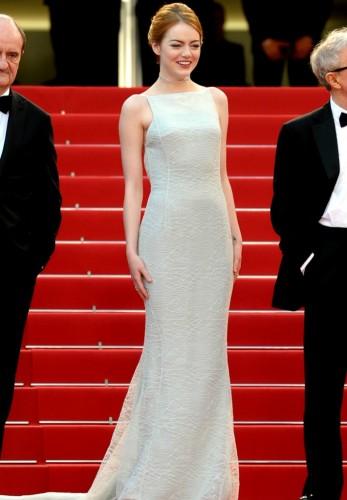 Emma Stone, cannes,triti mera Christian Dior Couture