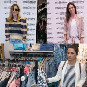 To κατάστημα attr@ttivo στο Τhe Mall Athens ανανεώθηκε και γιόρτασε με ένα λαμπερό πάρτι μόδας!