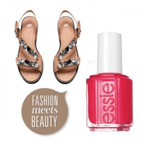 Fashion meets beauty: Συνδυάσαμε τα πιο stylish σανδάλια με τα ωραιότερα βερνίκια νυχιών
