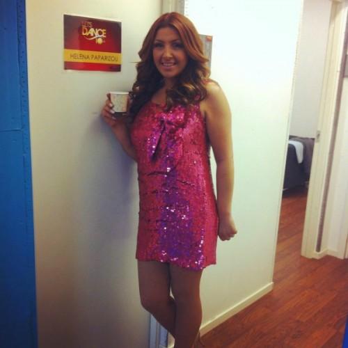 61b97e1767ae Έκλεψε τις εντυπώσεις  Δείτε την εμφάνιση της Έλενας Παπαρίζου στο Dancing  with the Stars