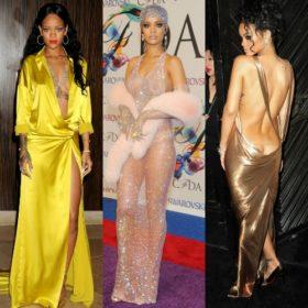 Rihanna: Με αφορμή την εμφάνισή της στα CFDA σας παρουσιάζουμε τις πιο αποκαλυπτικές εμφανίσεις της
