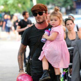 So sweet! Η κόρη του David Beckham ακολουθεί τα βήματα του πατέρα της