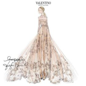 Δε θα πιστέψετε ποια φόρεσε Valentino στον γάμο της