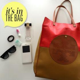 It's in the bag! Κρυφοκοιτάξαμε στην τσάντα της Αλέκας Καμηλά