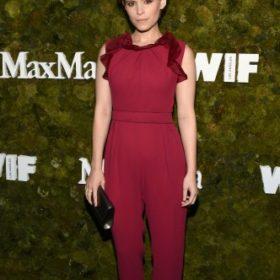 Η Kate Mara με Max Mara