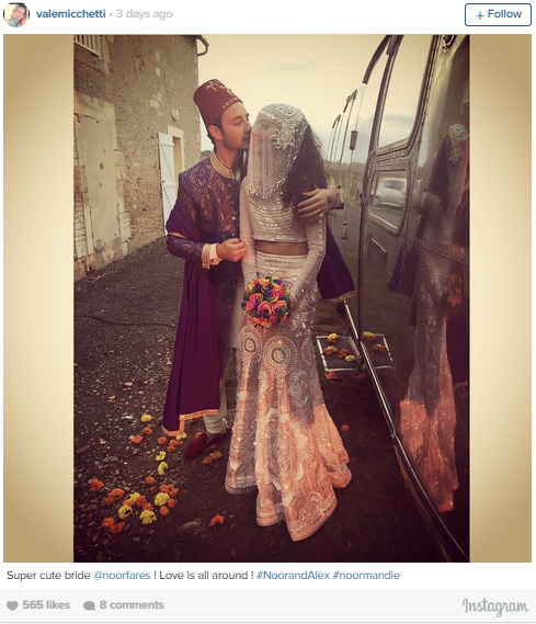 Alexandre khawam wedding