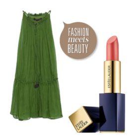 Fashion meets beauty: Ταιριάξαμε τέλεια καλοκαιρινά φορέματα με κραγιόν