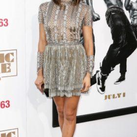 Η Jenna Dewan Tatum με Reem Acra
