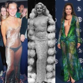 They are naked! Οι celebrities που φόρεσαν τα πιο αποκαλυπτικά φορέματα ever