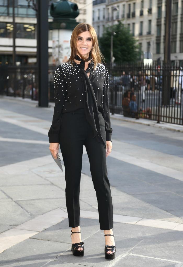 Carine Roitfeld, paris fashion week haute couture