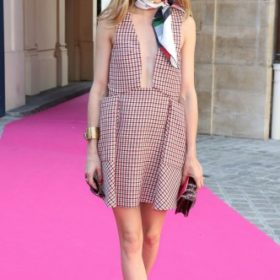 H Olivia Palermo με Dior