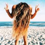 mallia paralia beach waves