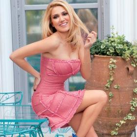 Η Έλενα Παπαβασιλείου κέρδισε τη στιλιστική μάχη των εκλογών με αυτό το φόρεμα