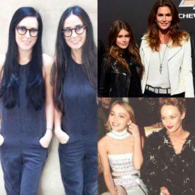 Το μήλο κάτω απ' τη μηλιά: 10 celebrities που είναι ολόιδιες με την μητέρα τους