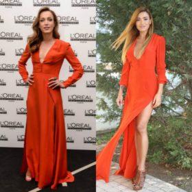 Κάτια Ζυγούλη, Όλγα Φαρμάκη: Ποια φόρεσε το κόκκινο φόρεμα καλύτερα;