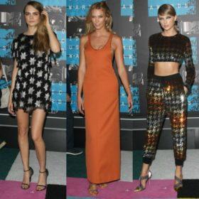 MTV VMA 2015: Δείτε τι φόρεσαν οι celebrities που φωτογραφήθηκαν στο κόκκινο χαλί