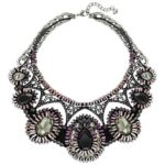 dramatic necklace, swarovski
