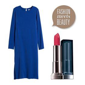 Fashion meets beauty: Συνδυάσαμε τα ωραιότερα φθινοπωρινά φορέματα με τέλεια κραγιόν