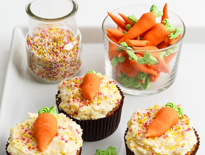 carrot cupcake sweet