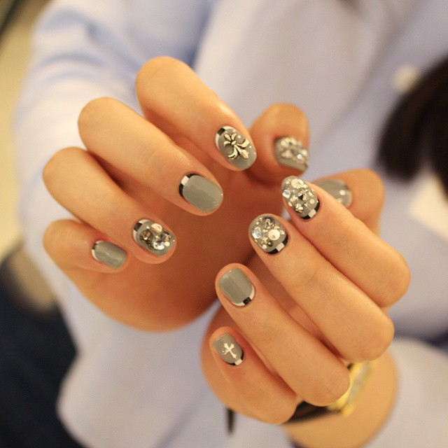 1. nail art manicure manikiour (5)