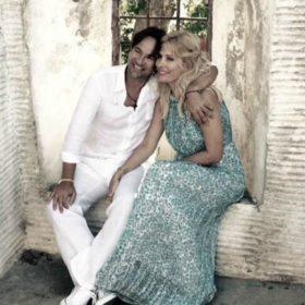 Ελένη Μενεγάκη: Δείτε την πρώτη φωτογραφία του Ματέο αγκαλιά με την κόρη του