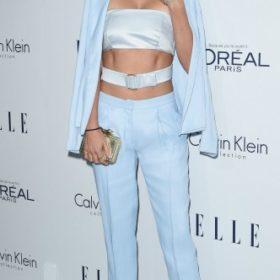 Η Miranda Kerr με Calvin Klein Collection