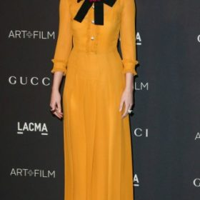 H Dakota Johnson με Gucci