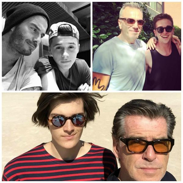 male, models, famous, parents
