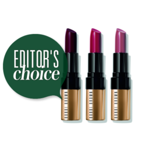 Editor's Choice: Τα νέα κραγιόν Luxe Lips της Bobbi Brown