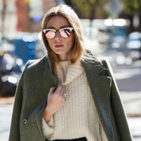 Fashion icon: Δείτε τα πανωφόρια που επέλεξε η Olivia Palermo στην Εβδομάδα Μόδας της Νέας Υόρκης