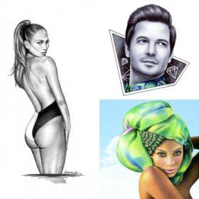 Αλλαγή καριέρας! Ποια παίκτρια του Fame Story κάνει πορτρέτα διασήμων κερδίζοντας τις εντυπώσεις;