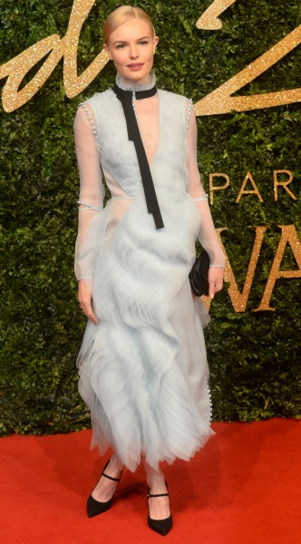 kate bosworth, british fashion awards, mosaic, look of the day, Erdem
