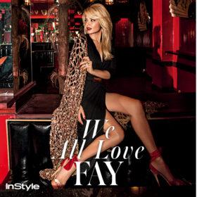 We all love Fay: Δείτε την Φαίη Σκορδά στην πιο σέξι chic φωτογράφισή της