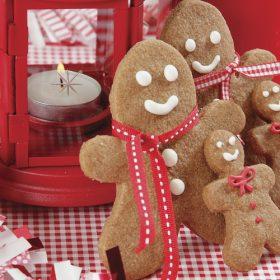 Gingerbread Μan Cookies