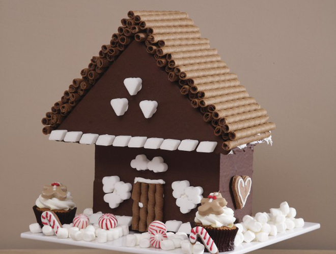 chocolate home
