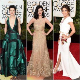 Golden Globes 2016: Δείτε όλα τα looks από το κόκκινο χαλί
