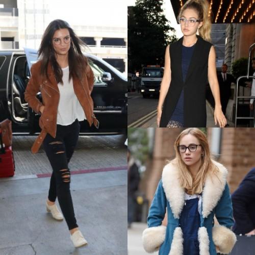 9957fbed38 11 celebrities που δείχνουν υπέροχες φορώντας γυαλιά οράσεως ...