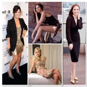 Δέκα γυναίκες celebrities που φοράνε μεγάλο νούμερο παπουτσιού