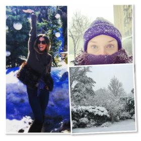 Στο Instagram των διασημοτήτων: 10 χιονισμένες φωτογραφίες από τη Νέα Υόρκη