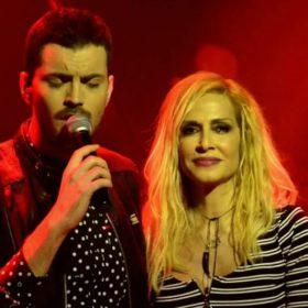 Ο πιο καλοντυμένος ανερχόμενος τραγουδιστής, εμφανίζεται με την Άννα Βίσση