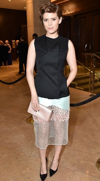 kate mara, dior, mosaic, look of the day